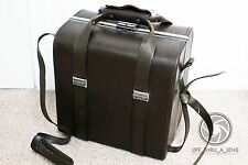 Vintage JAPANESE Camera shoulder bag hardcase case for camera kit SLR DSLR