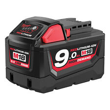 Milwaukee - M18 - 9.0Ah High Demand Lithium-ion Battery-Up more 35% Power