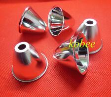 Aluminum Reflector Cup 5-10° For Cree XR-E/XM-L/XM-L2 Q5 T6 LED Flashlight 10PCS