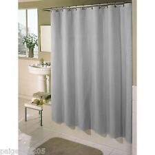 Essential Home Waffle Fabric Shower Curtain - Aqua
