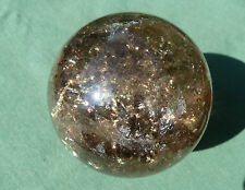 Beautiful XL 60mm SMOKY QUARTZ SPHERE Polished Crystal