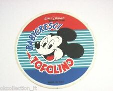 ADESIVO anni '80 / Old Sticker DISNEY TOPOLINO Mickey Mouse Babycresci (cm 9)