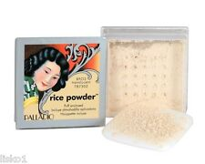 Palladio RICE POWDER OIL ABSORBING LOOSE POWDER MAKE UP NATURAL ORYZA SATIVA