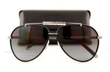 Brand New DSQUARED Sunglasses DQ 0087 87 01B Black/Gray For Men
