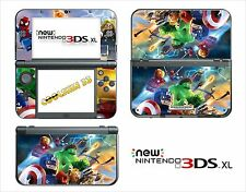 SKIN DECAL STICKER - NINTENDO NEW 3DS XL - REF 197 LEGO MARVEL