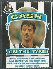 NEWCASTLE UNITED-CASH ON THE TYNE-1997-IAN RUSH