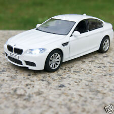 5 Inch BMW M5 Alloy Diecast Model Cars Toy Car Gifts Sound & Light White Color