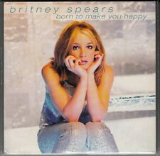 """CD SP BRITNEY SPEARS """"BORN TO MAKE YOU HAPPY"""""""
