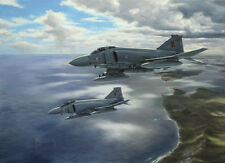 McDonnell Phantom FGR.2 23 Squadron Falkland Islands Aircraft Painting Art Print