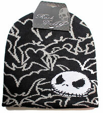 Oficial Nightmare Before Christmas-Jack Skellington Murciélagos-Beanie Hat