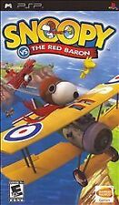 BRAND NEW SEALED PSP RARE GAME --  Snoopy vs. The Red Baron (Sony PSP, 2006)