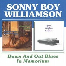 Down and Out Blues/In Memorium by Sonny Boy Williamson II (Rice Miller) (CD,...