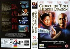 Crouching Tiger Hidden Dragon VHS Video Promo Sample Sleeve/Cover #8146