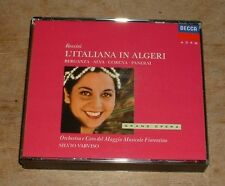 ROSSINI l'italiana in algeri BERGANZA*VARVISO 1989 DECCA GERMAN 2-CD + BOOKLET
