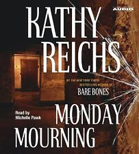 Monday Mourning Kathy Reichs 4 CD Audiobook