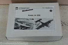 Intermodell ARADO AR 232  Vacuform Vacuum Form 1:72 SELTEN