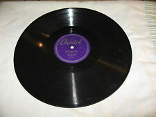 "Tex Ritter, Capitol #15119. Rock And Rye/My Heart's As Cold As...,78 rpm,10"",E."