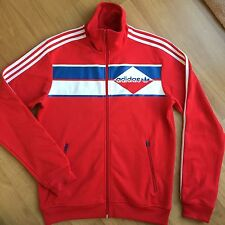 Adidas Originals Men's Beckenbauer Zip-up Jacket Red/White/Blue