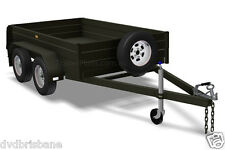 TRAILER PLANS - TANDEM BOX TRAILER PLANS - Tough Design -3 sizes 8x5, 9x5,10x6ft