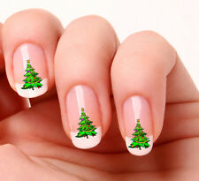 20 Nail Art Decals Transfers Stickers #24 -  Christmas Tree  just peel & stick
