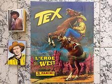 TEX L'EROE DEL WEST LIMITED EDITION 1000 COPIE ALBUM + SET COMPLETO DI FIGURINE