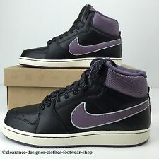 NIKE BACKBOARD II 2 MID TRAINERS WOMENS BLACK RETRO VINTAGE SHOES UK 3.5 RRP £60