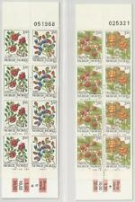 Norwegen aus 1995/96 ** postfrisch Markenheftchen 24+27 - Waldbeeren!