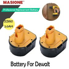 2 NEW 12V 12 VOLT 2.0AH BATTERY FOR DEWALT DC9071 DW9071 DW9072 DW051K DW052K