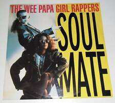 """THE WEE PAPA GIRL RAPPERS - SOULMATE - 1988 UK 12"""" VINYL SINGLE RECORD"""