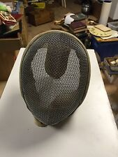Vintage Castello Fencing Mask -Antique Foil Epee Sword Mask New York City