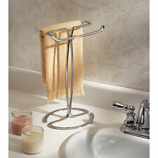 Free Standing Towel Rack For Bathroom Organization And Storage Decor Guests