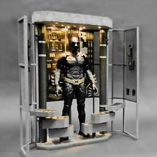 Toys Legend DX12 Dark Knight Batman Bat Armory LED Light Diorama Set 1/6