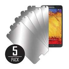 MPERO Collection 5 Pack of Mirror Screen Protectors for Samsung Galaxy Note 3
