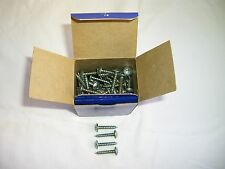 "Vintage Rockford, 90, Zinc Plated, 10 x 1"", Phillips Truss head Tapping screws"