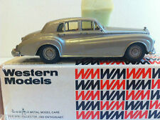 Western Models - WMS 48 - Rolls Royce Silver Cloud III 1964 en boîte d'origine