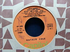 NATALIE COLE Keep smiling / good morning heartache SP 490 PROMO