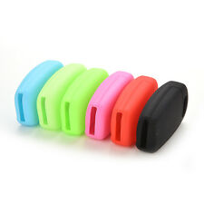 Black Fit For Audi A3 A4 A6 Tt Q7 R8 Silicone Flip Key Remote Holder Fob