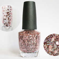 OPI - You Pink Too Much - G40 Pale Light Pink & Holographic Glitter Nail Polish