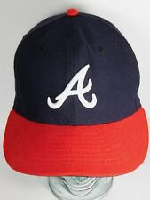 ATLANTA BRAVES NEW ERA MLB Baseball AUTHENTIC COLLECTION ON FIELD CAP SIZE 7