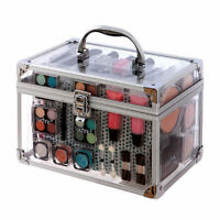 Technic Professional Vanity Case Cosmetic Make Up Beauty Box Gift Set Kit 90232