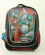New  Mighty Morphin Power Rangers Boys  16'' 3DFX Large School Backpack USA!