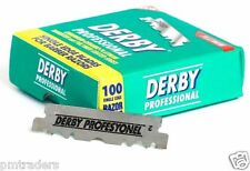100 Derby Professional Single Edge Razor Blades for Straight Razors