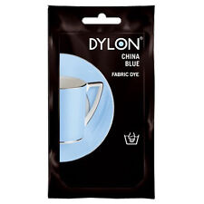 CHINA BLUE DYLON HAND WASH FABRIC CLOTHES DYE 50g TEXTILE PERMANENT COLOUR