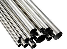 316 STAINLESS STEEL TUBE 24mm OD 22mm ID x 350mm LONG 1.0mm Wall Mirror Finish