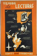 Tesoro de Lecturas by Sturgis E. Leavitt and Sterling A. Stoudemire (1957,...