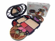 ADS 8088 FASHION COLOUR EYESHADOWS, BLUSH,  POWDER & GLOSS COMPLETE MAKEUP KIT