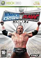 WWE Smackdown vs Raw 2007 XBOX 360 jeux jeu game games spellen spelletjes 1411