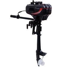 New 2 Stroke 3.5HP Heavy Duty Outboard Motor Boat Engine w/Water Cooling System