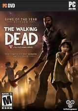 THE WALKING DEAD Game of the Year Edition FIRST SEASON +400 DAYS PC Game DVD NEW