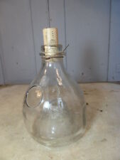 Antique French glass wasp trap